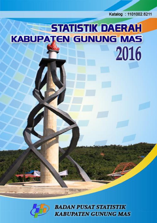 Badan Pusat Statistik Kabupaten Gunung Mas